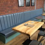 Re-Upholstery, Fixed bench seating recover