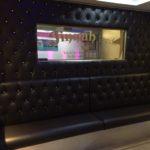 Restaurant re-upholstery