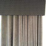 Grey & Black curtain