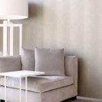 Pale grey wallpaper