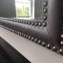 Large double studded vanity mirror