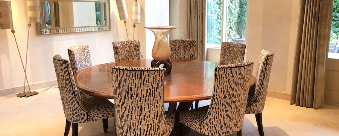 Dining Chairs & Curtains